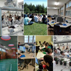 collage scienze e tecnologia