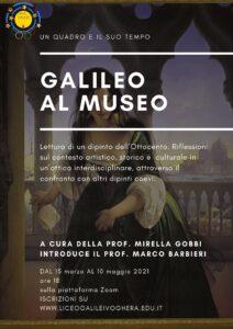 locandina galileo al museo