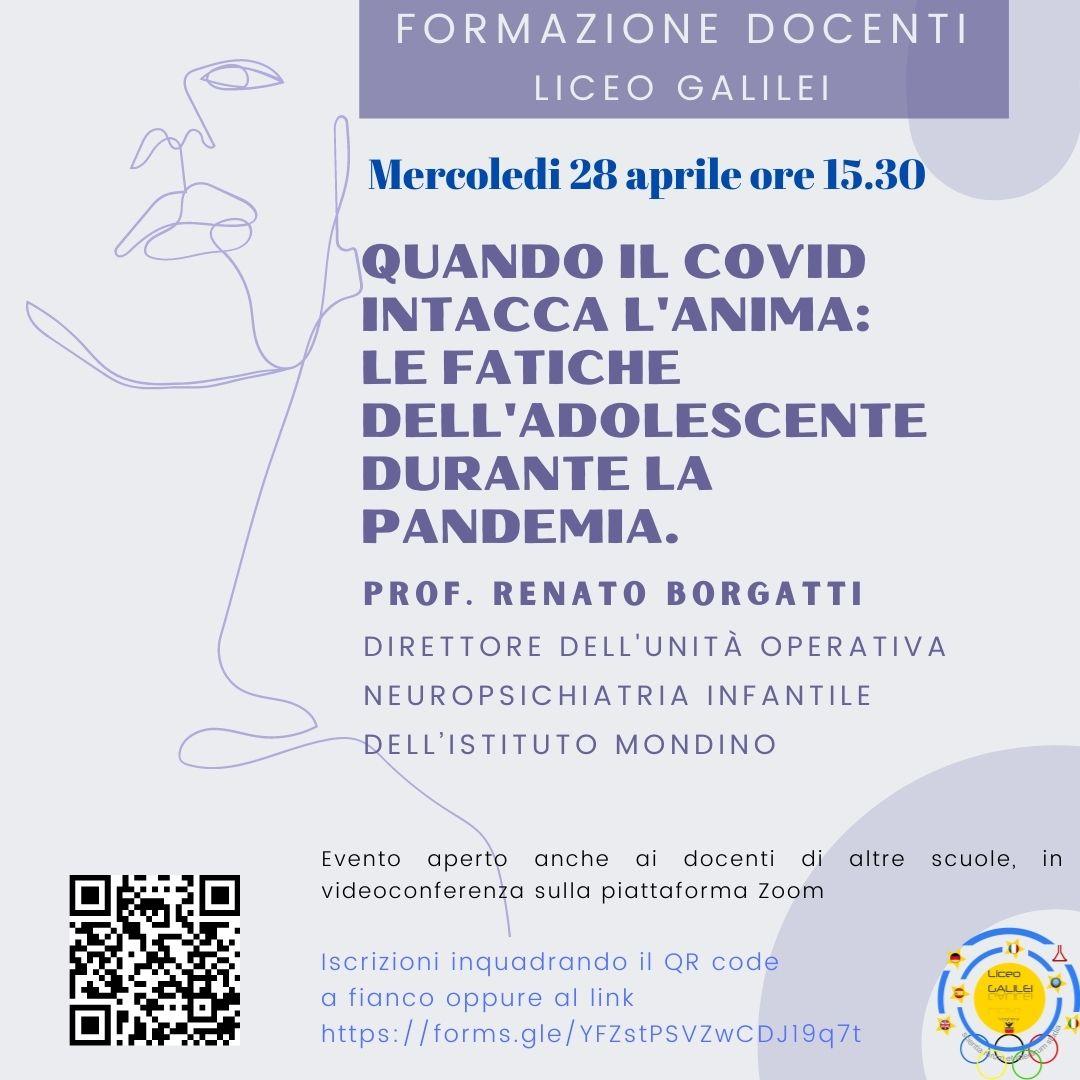 locandina conferenza Borgatti